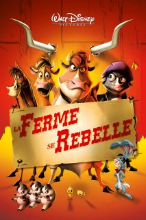 Affiche La ferme se rebelle Disney Poster Home on the range