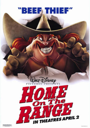 Affiche La ferme se rebelle Disney Poster Home on the range