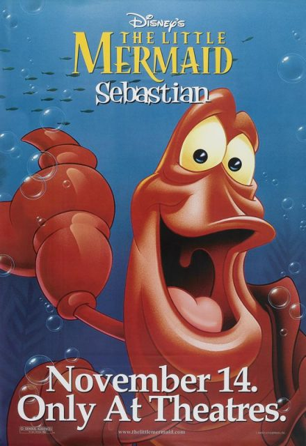 Affiche La petite sirène Disney Little mermaid Poster