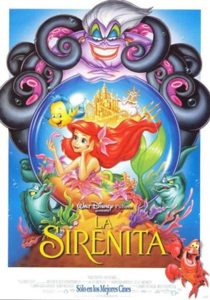 Affiche La petite sirène Disney Little mermaid Poster