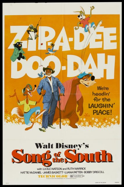 Affiche Mélodie du sud Disney Poster Song of the south