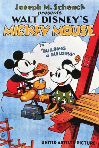 affiche mickey batissons Walt Disney Animation poster