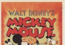 affiche mickey cauchemar Walt Disney Animation poster