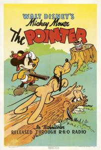 affiche mickey chien arret Walt Disney Animation poster