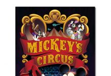 affiche mickey cirque Walt Disney Animation poster