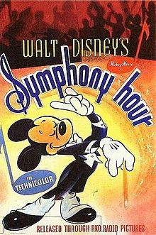 Disney affiche mickey symphony hour