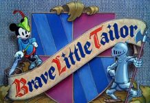 affiche mickey tailleur Walt Disney Animation poster