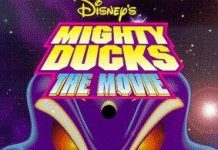 mighty ducks Walt Disney animation poster affiche