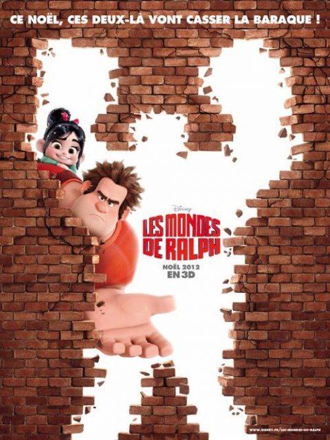 Affiche Les mondes de Ralph Disney Poster Wreck it