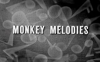 affiche poster monkey melodies disney silly symphony