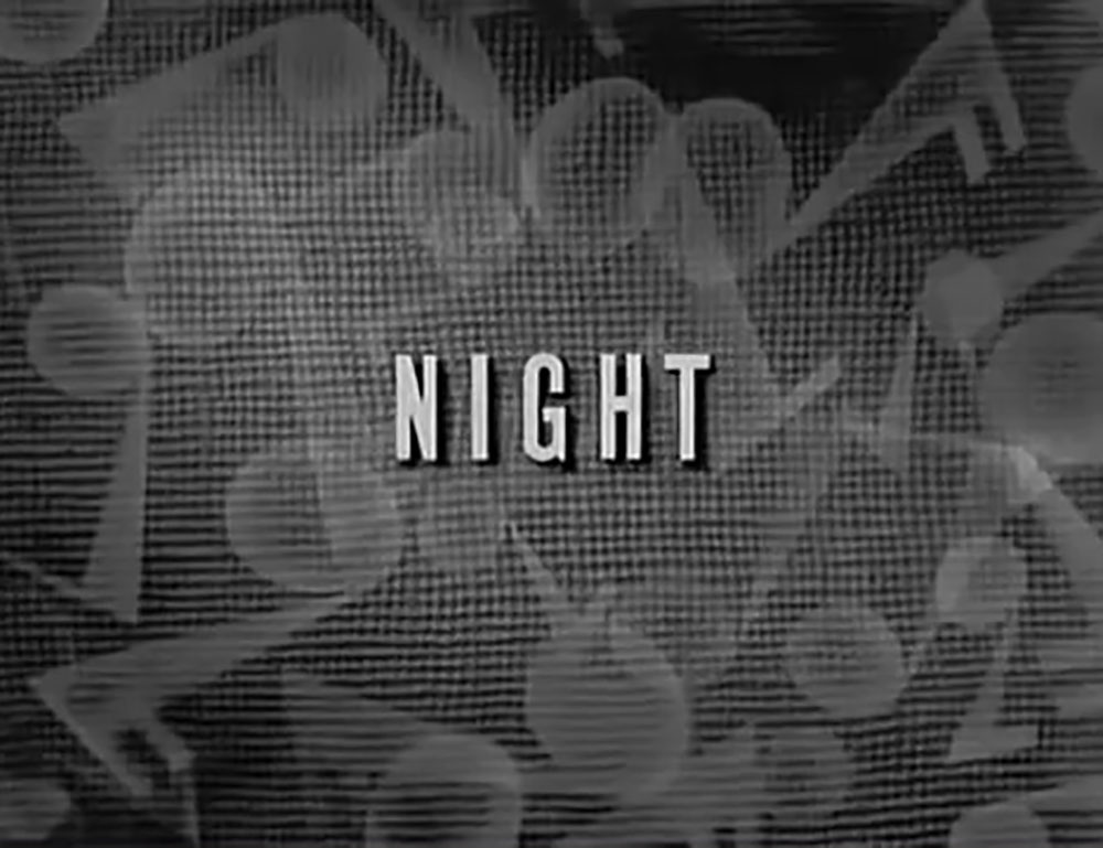 affiche poster night nuit disney silly symphony