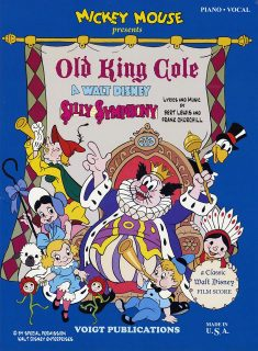 affiche poster old king cole silly symphony disney