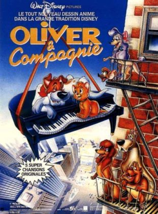 Affiche Oliver compagnie Disney Poster Company