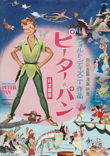 Affiche Peter Pan Disney Poster