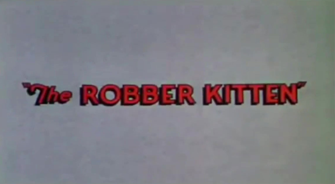 affiche poster petit chat voleur robber kitten disney silly symphony