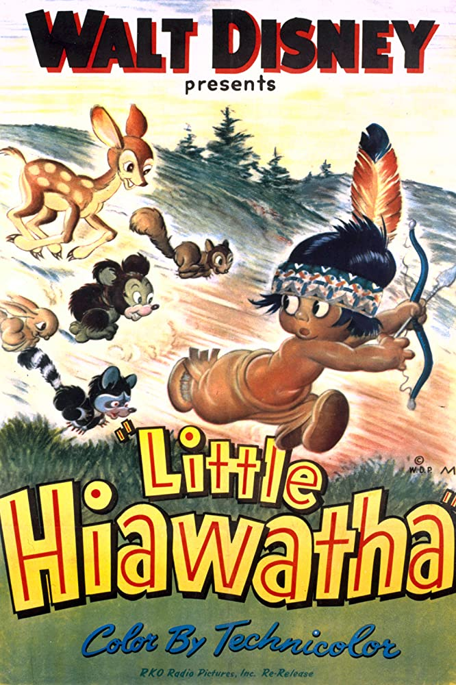 affiche poster petit indien little hiaatha disney silly symphony