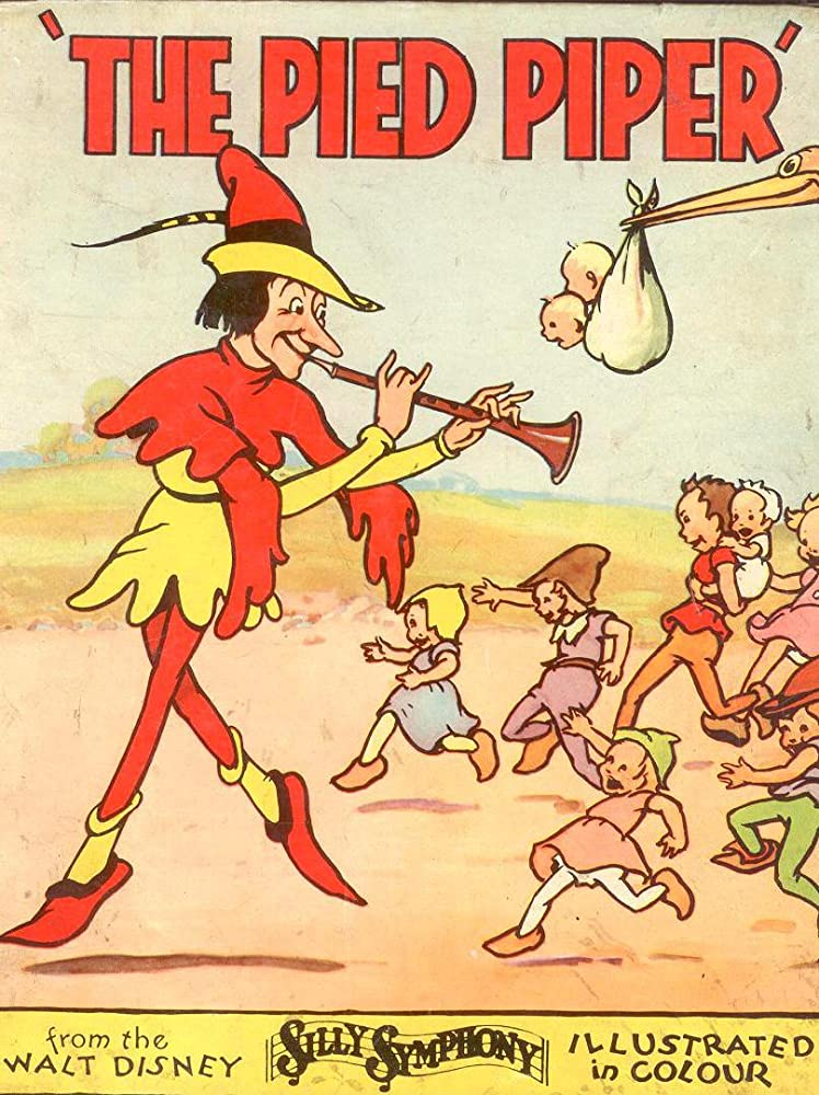 affiche poster pied piper disney silly symphony