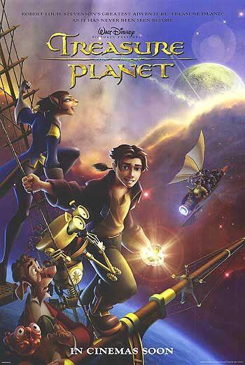 Affiche La planète au trésor : un nouvel univers Disney Poster Treasure Planet