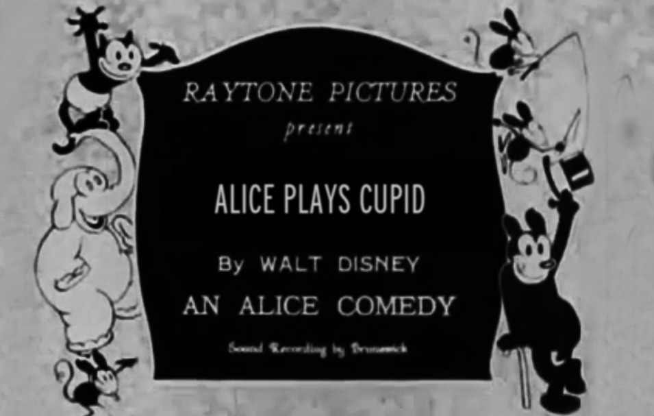 affiche poster alice plays cupid disney comedies
