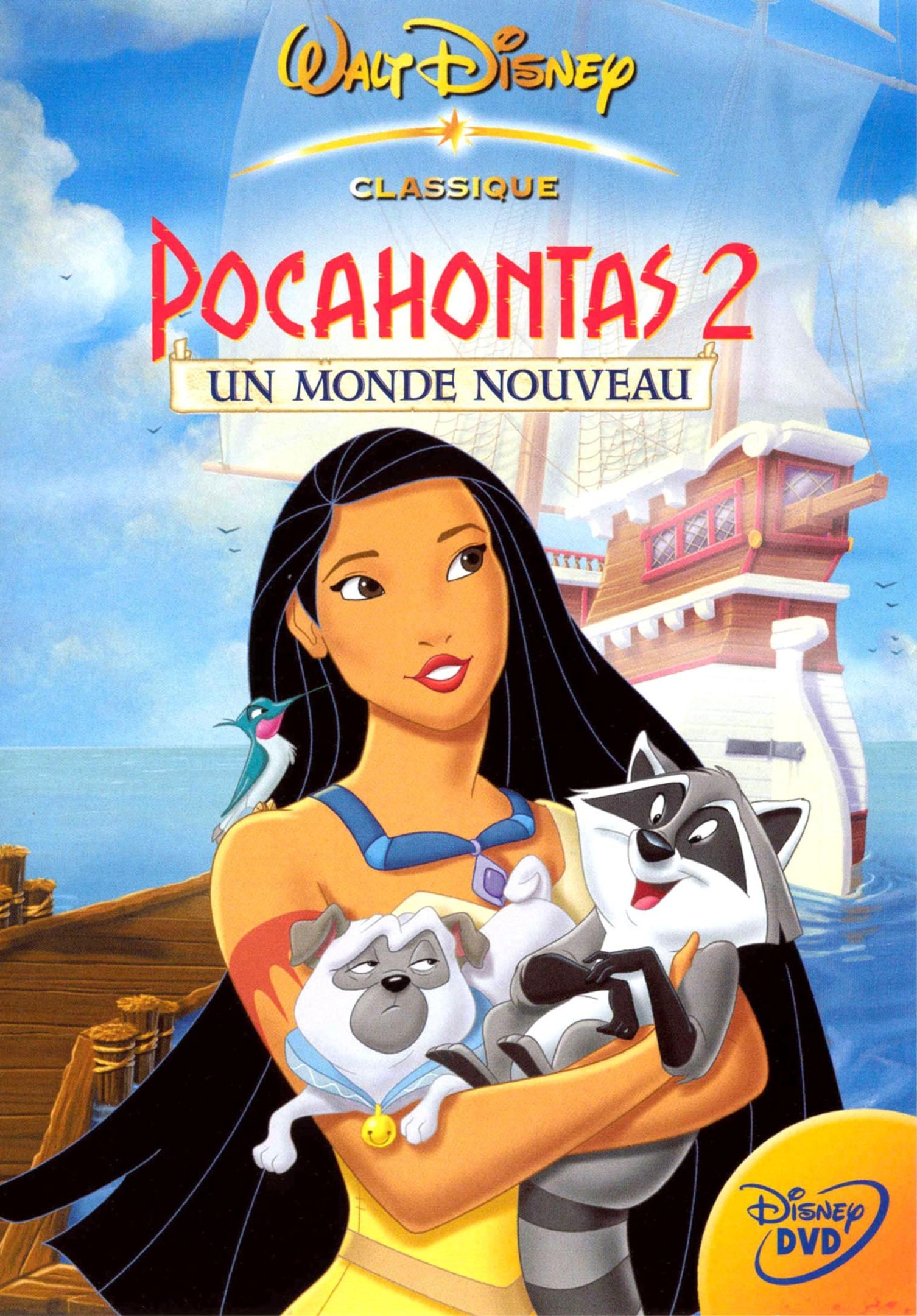 affiche poster pocahontas 2 monde nouveau journey new world disney