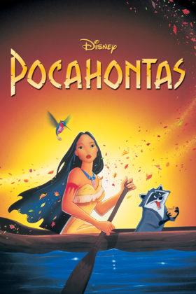 Affiche Pocahontas une légende indienne Disney Poster