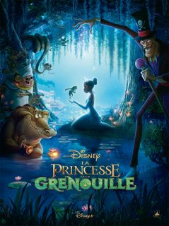 Affiche La princesse et la grenouille Disney Poster Princess and the frog