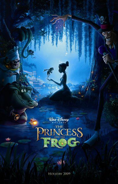 Affiche La princesse et la grenouille Disney Poster Princess and the frog