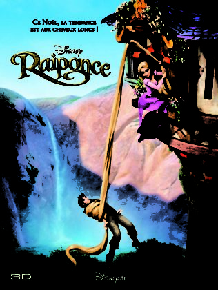 Affiche Raiponce Disney Poster Tangled