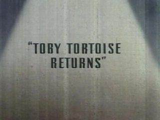 affiche poster retour toby tortue returns tortoise disney silly symphony