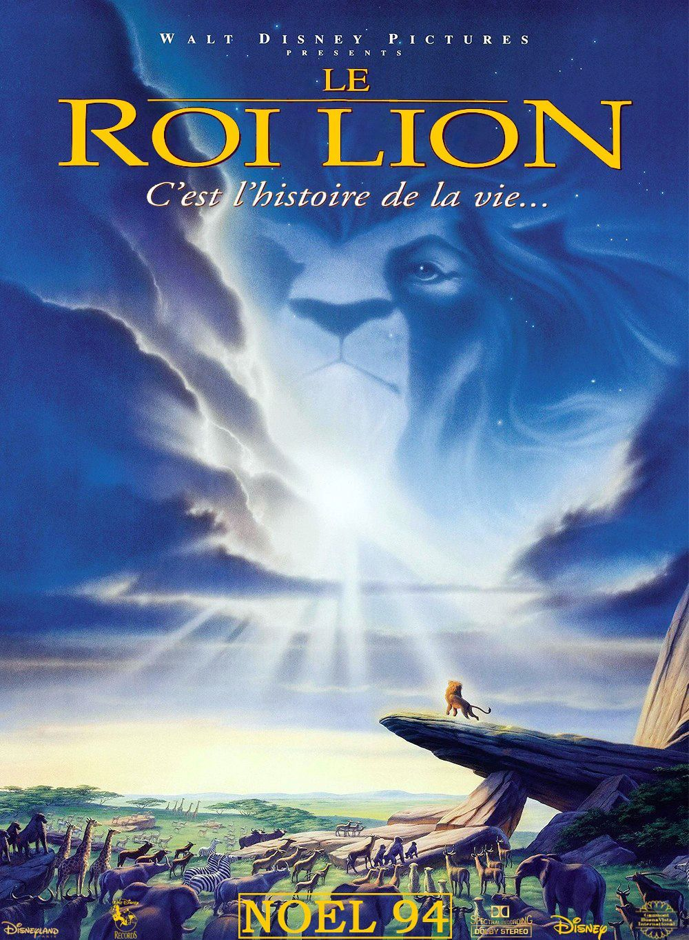 Affiche Le roi lion Disney Poster King