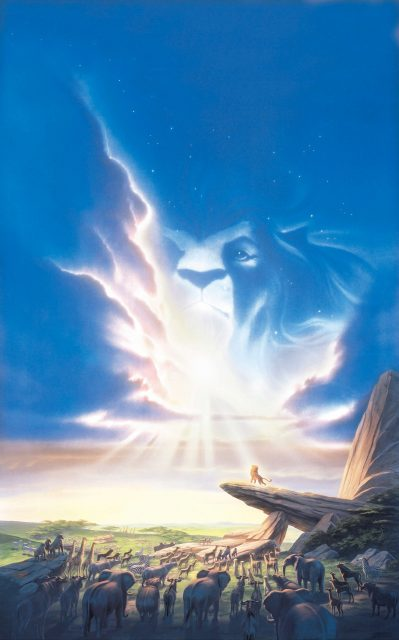 Affiche Le roi lion Disney Poster King