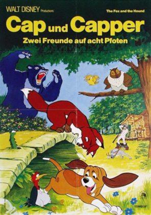 Affiche Rox Rouky Disney Poster Fox hound