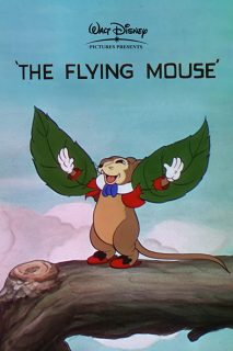 affiche poster souris volante flying mouse disney silly symphony