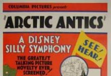 affiche silly symphony artic Walt Disney Animation poster