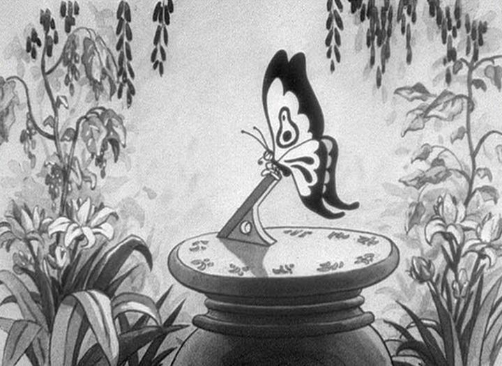 affiche silly symphony assiette porcelaine Walt Disney Animation poster