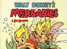 affiche silly symphony bebe ocean Walt Disney Animation poster