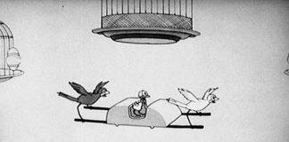 affiche silly symphony bird store Walt Disney Animation poster
