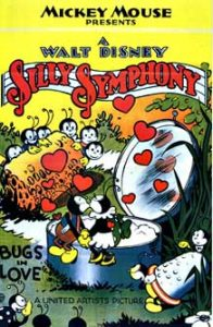 affiche silly symphony bugs love Walt Disney Animation poster
