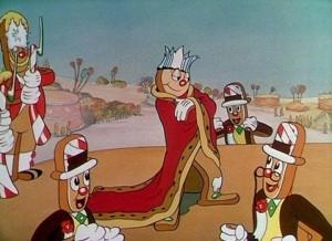 affiche silly symphony carnaval gateau Walt Disney Animation poster