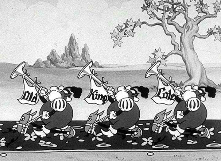 affiche silly symphony chanson oie Walt Disney Animation poster