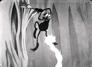 affiche silly symphony cloche enfer Walt Disney Animation poster