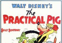 affiche silly symphony cochon pratique Walt Disney Animation poster