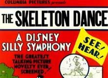affiche silly symphony danse macabre Walt Disney Animation poster