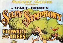 affiche silly symphony fleur arbre Walt Disney Animation poster