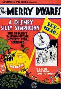affiche silly symphony merry dwarfs Walt Disney Animation poster