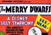 affiche silly symphony merry dwarfs Walt Disney Animation poster