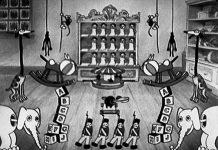 affiche silly symphony midnight toy shop Walt Disney Animation poster