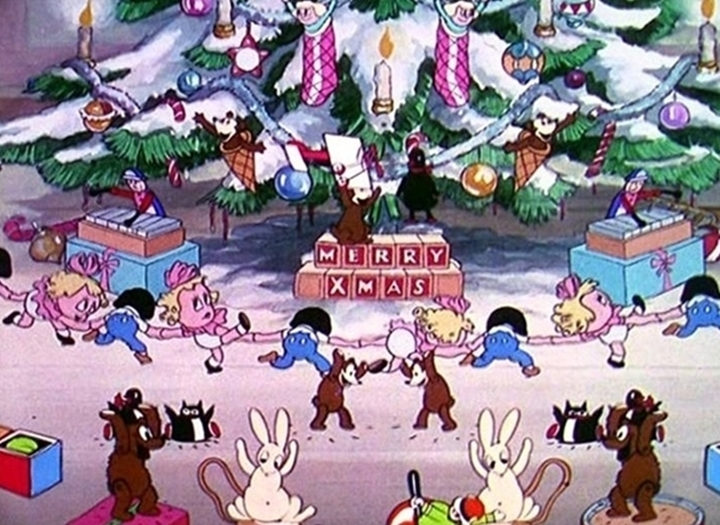 affiche silly symphony night before christmas Walt Disney Animation poster