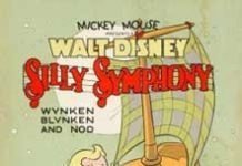 affiche silly symphony pays etoile Walt Disney Animation poster