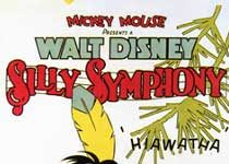 affiche silly symphony petit indien Walt Disney Animation poster